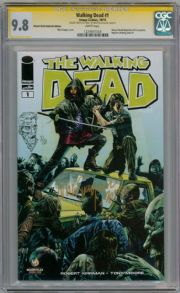 Walking Dead  #1 WW Nashville CGC 9.8  Signature Series Signed Suayan Sketch Comic Book